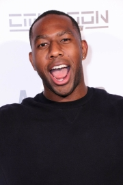 Sylvester Richardson attends the premiere of 'A-Minor' at Raleigh Studios in Hollywood.